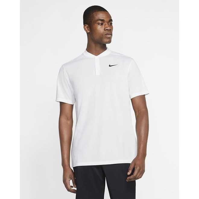 Men Dry Fit Victory Polo White