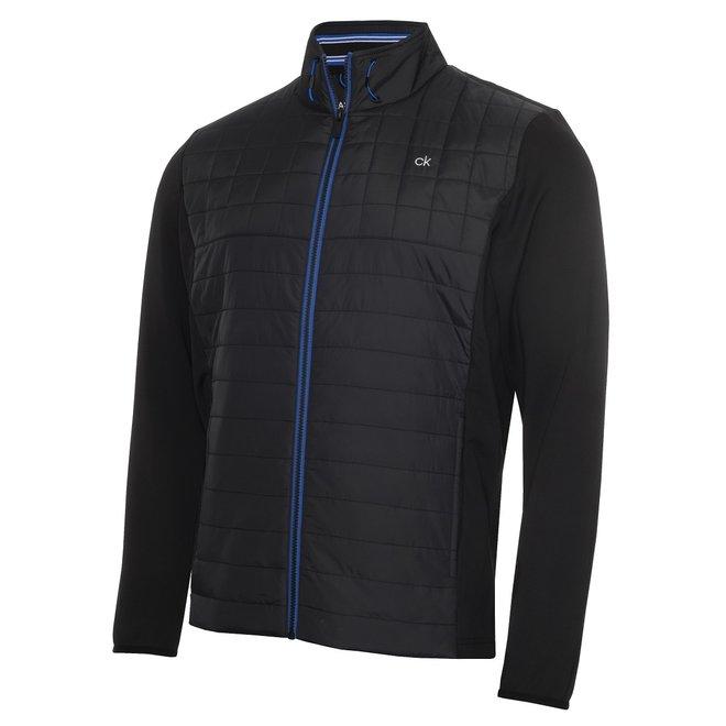 Heren Jacket Black/Nautical Blue