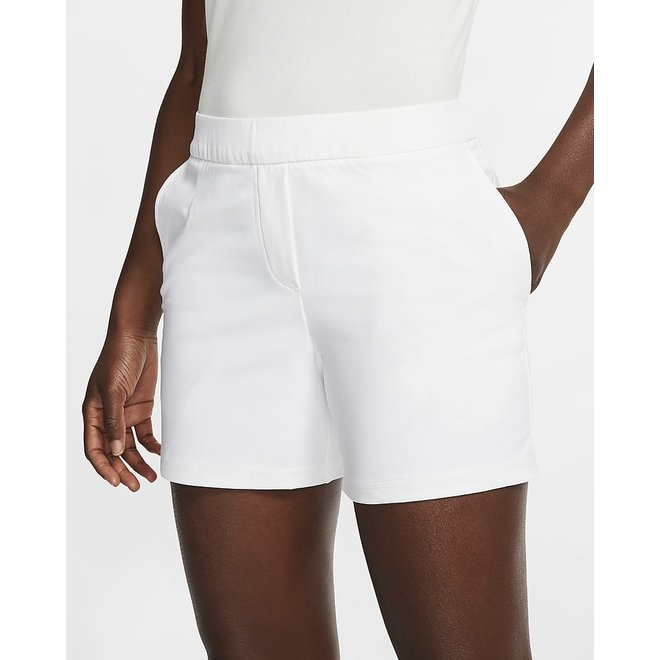 Woman Flex Victory 5 Inch Short White