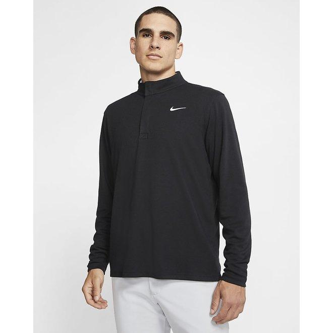 Men Dry Fit Victory Golf Top Black