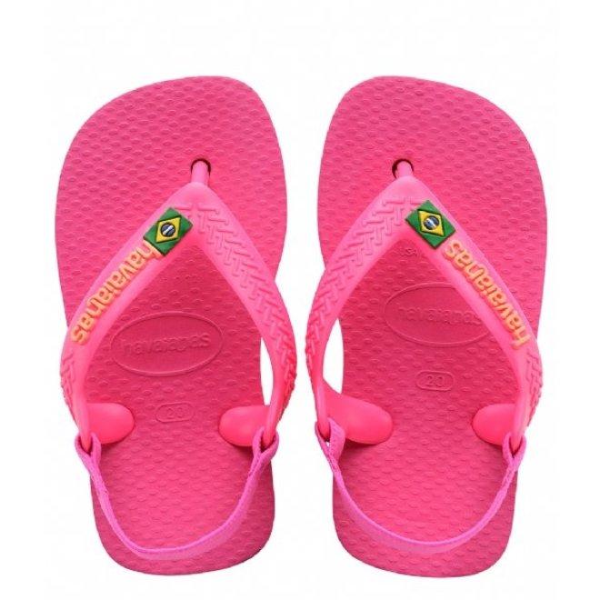 Baby Brasil Logo II Pink Flux