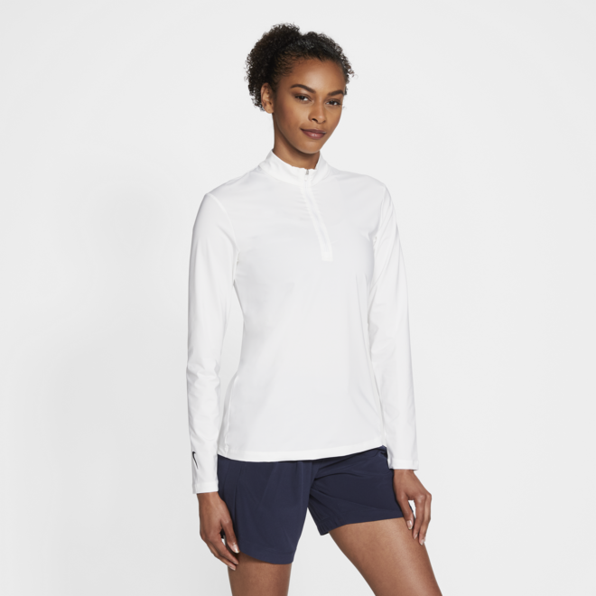 Dames Victory Long sleeve Pully Wit