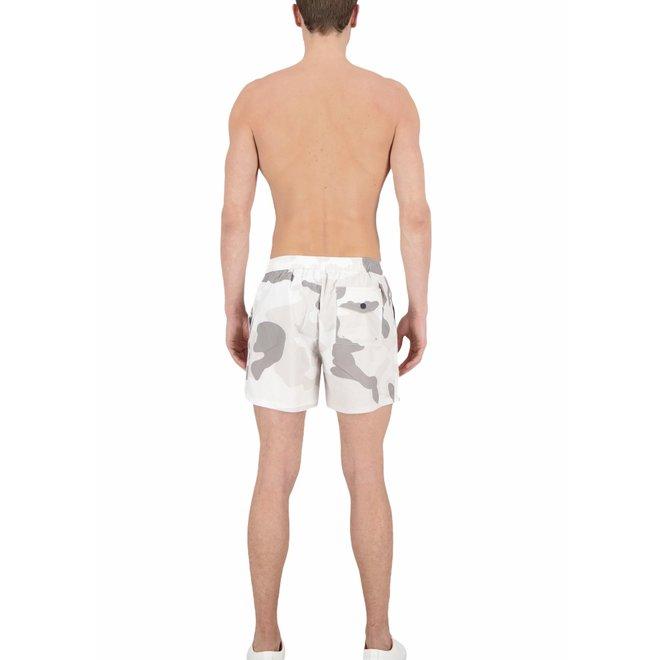 Heren Swimshort Camo White