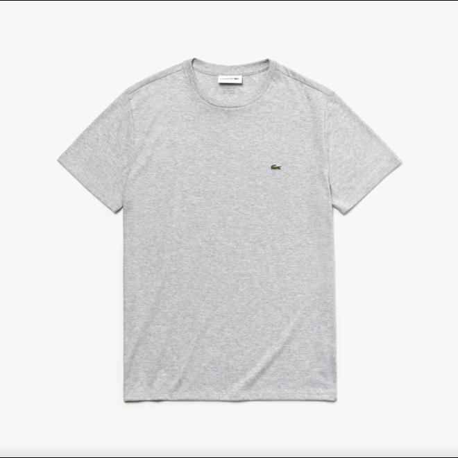 Lacoste Heren T-shirt 011 Lichtgrijs