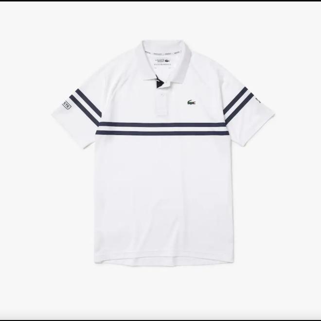 Tennis/Golf Polo Men White Navy
