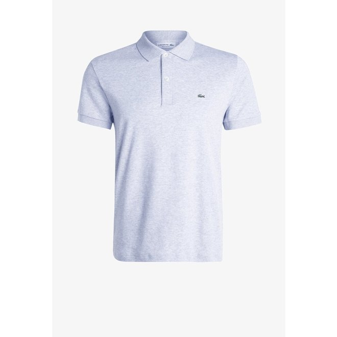 Lacoste Heren Polo 1HP3 Silver Chine