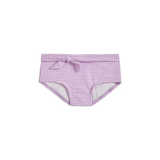 Meisjes Bikinibroekje Lilac Check