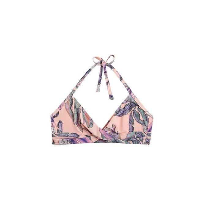 Meisjes Twist Bikinitop Tropical Blush