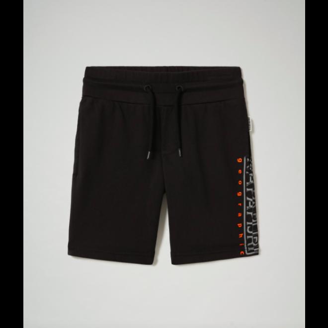 Jongens Short Sweat Pant Black