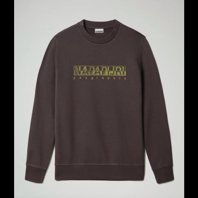 Ballar Heren Sweater Dark Grey