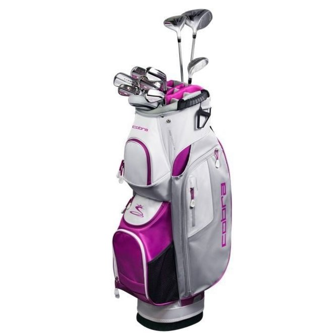 Fly XL Dames Golfset 11 delig Wit/Paars