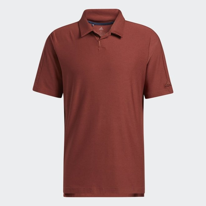 Adidas Heren Stretch Go-To Polo Red/Brown