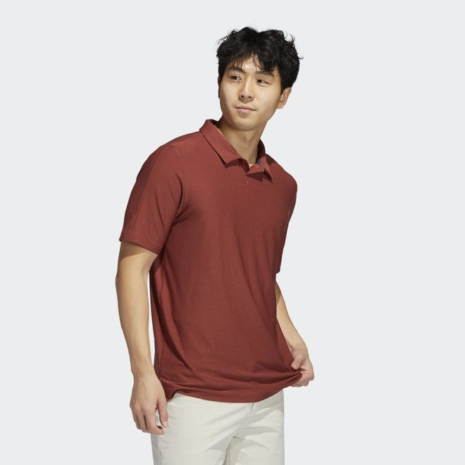 Adidas Heren Go-To Polo Red/Brown