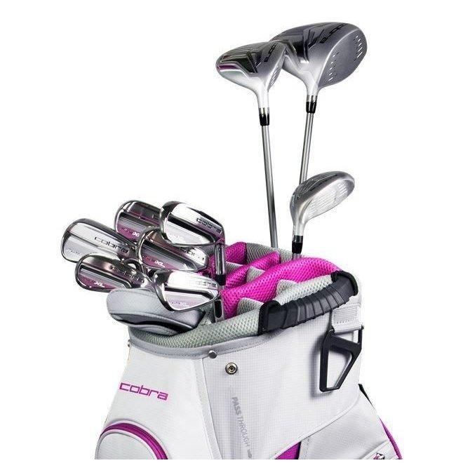 Cobra Fly XL Dames Golfset 11 delig Wit/Paars (links handig)