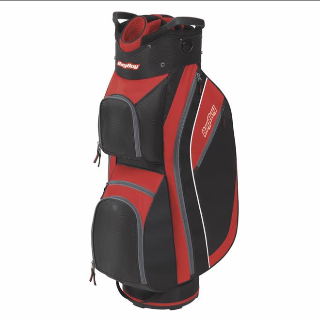 Super Lite 2020 Cart Bag Black/Red