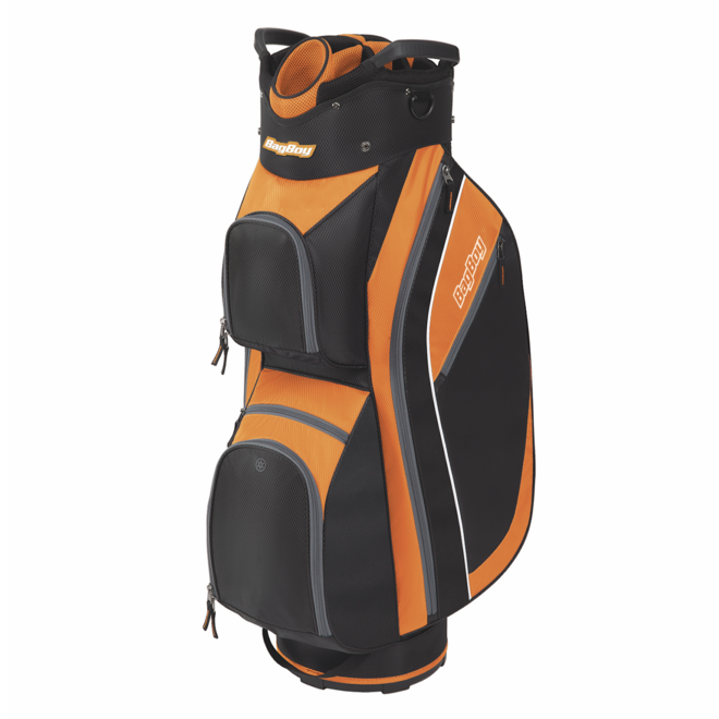 Super Lite 2020 Cart Bag Black/Orange