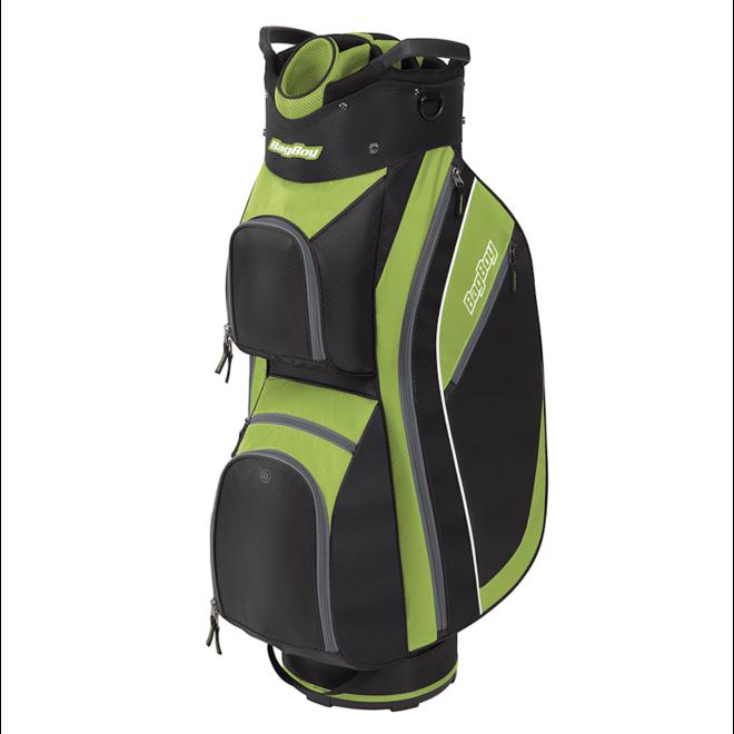 Super Lite 2020 Cart Bag Black/Lime