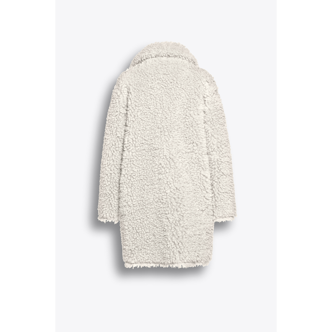 Beaumont Reversible Lammy Coat Off White
