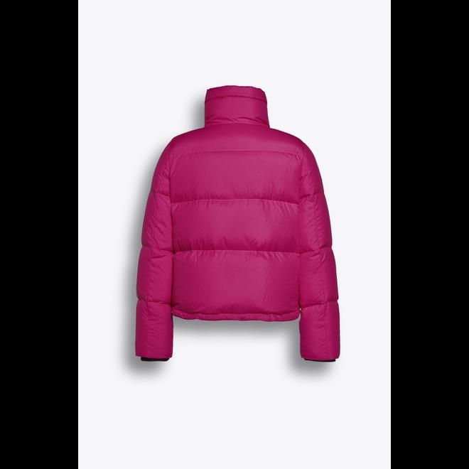 Beaumont Puffer Recycle Short Jacket Fuchsia