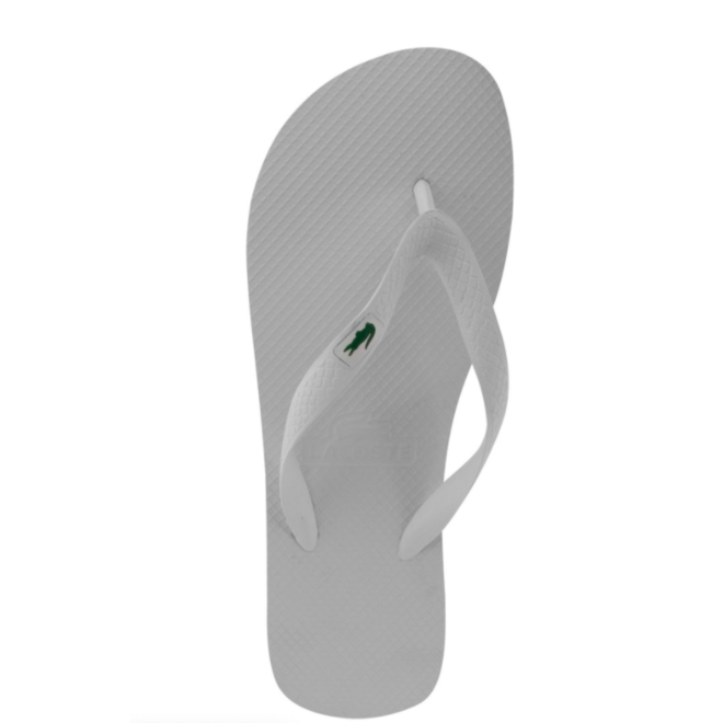 Lacoste Dames Slippers Wit