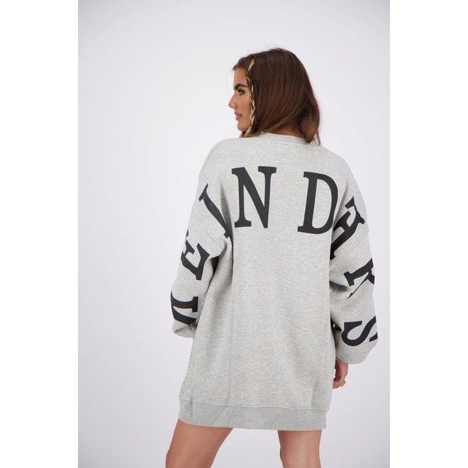 Reinders Yara Fay Sweater Dress Quiet Grey