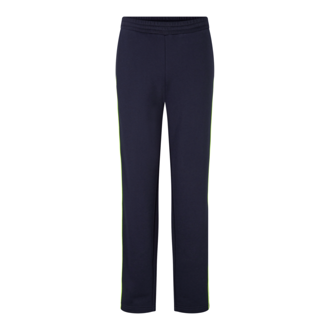 Fire + Ice Heren Pedro Jogging Trousers Navy/Neon Green