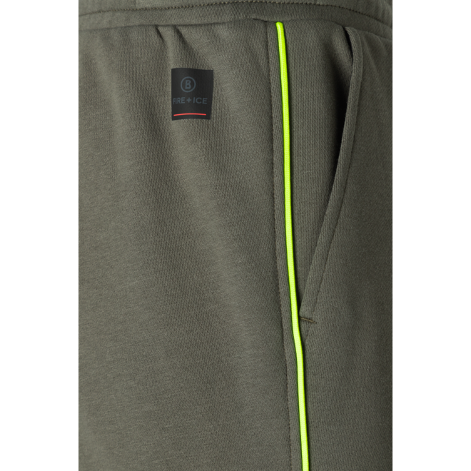 Fire + Ice Heren Pedro Jogging Trousers Olive Green