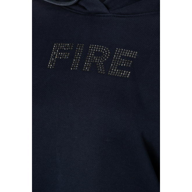 Fire + Ice Dames Cosa Sweatshirt Hoodie Navy