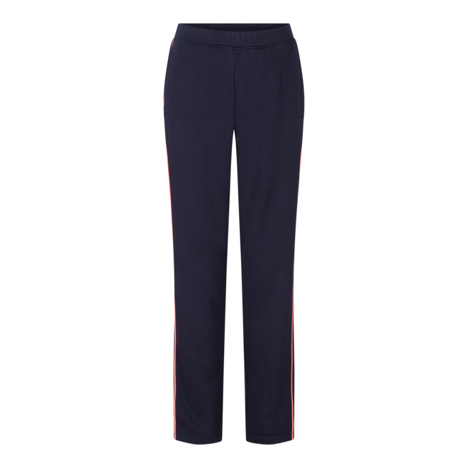 Fire + Ice Dames Thea4 Jogging Trousers Navy/Neon Pink