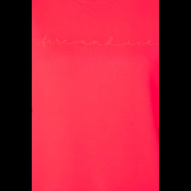 Fire + Ice Dames Silla Sweatshirt Neon Pink