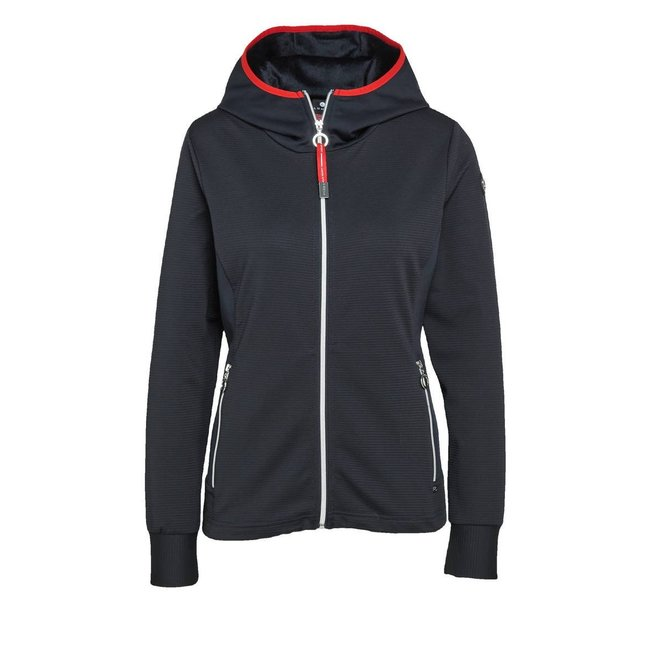 Luhta Dames Inkenranta Vest Donkerblauw/Rood