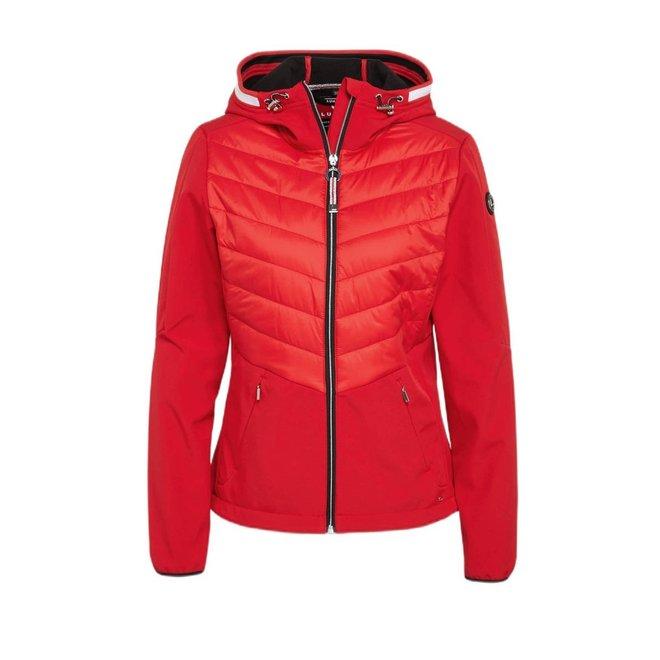 Luhta Dames Ilaja Softshell Jacket Rood