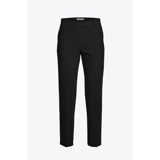 Beamont Crepe Suit Pants Black