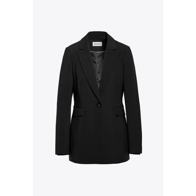 Beaumont Crepe Suit Blazer Black
