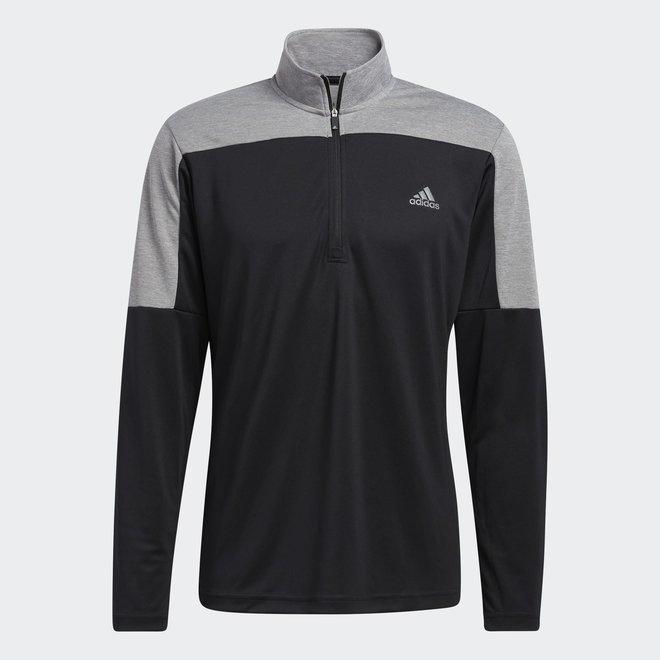 Adidas 1/4 Zip UPF Light Weight Men Black