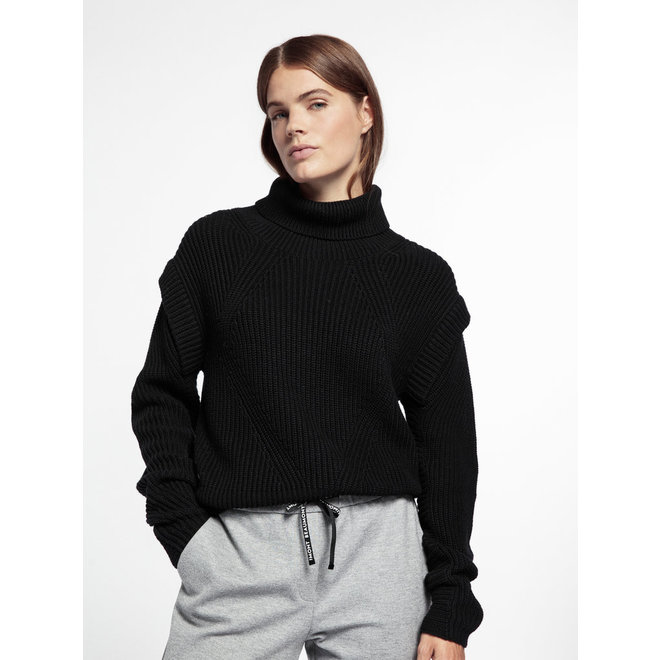 Beaumont Pullover Knitted Black