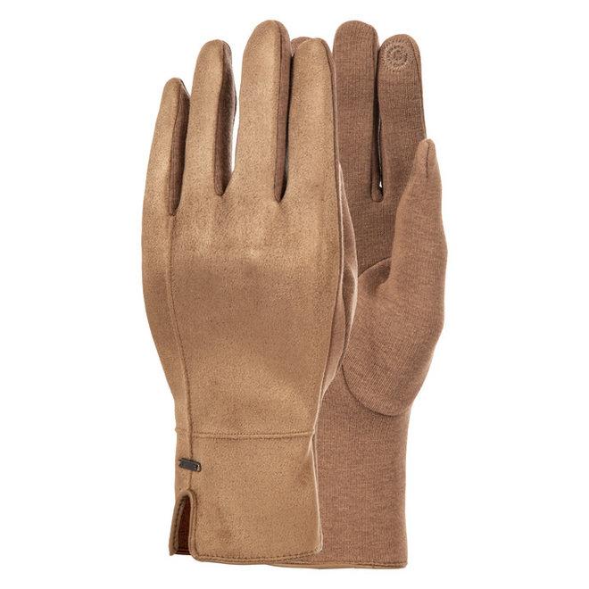 Luhta Dames Napinlahti Handschoenen Chestnut Bruin