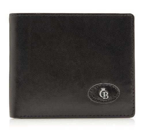 Castelijn en Beerens Castelijn & Beerens Gaucho billfold zwart - 424190
