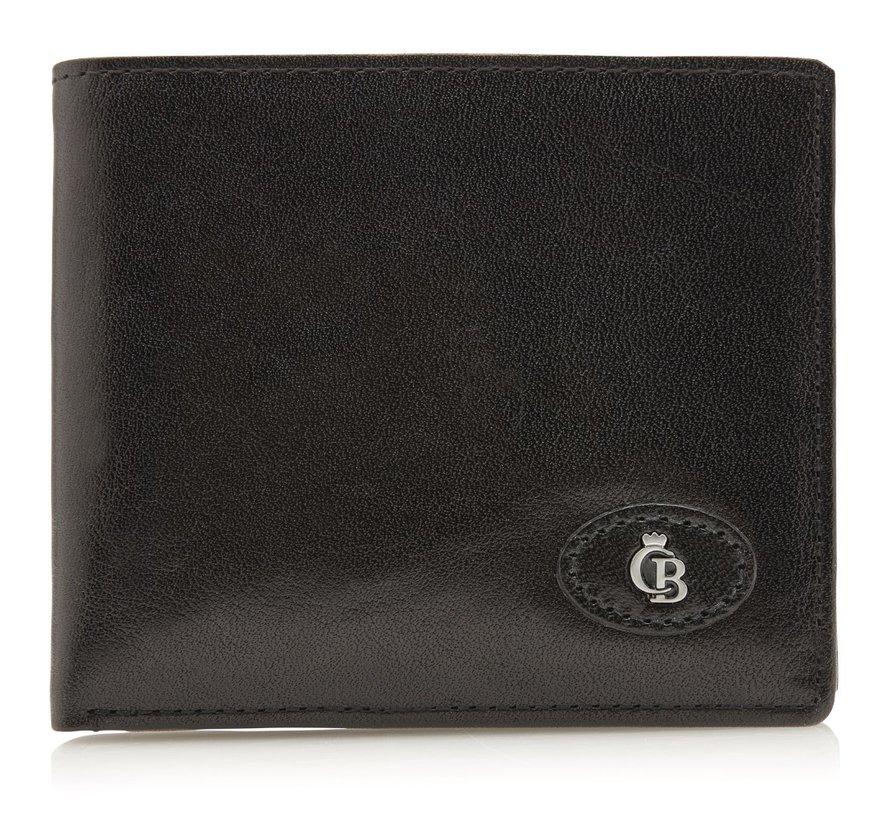 Castelijn & Beerens Gaucho billfold zwart - 424288
