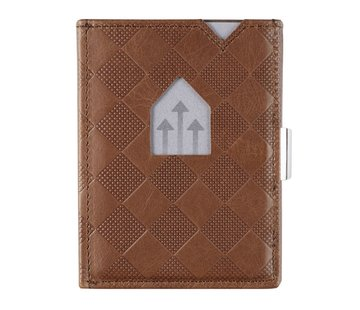 Exentri Exentri Wallet hazelnut chess