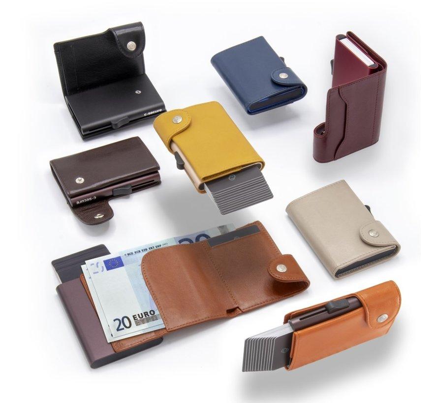 C-secure XL Wallet chestnut