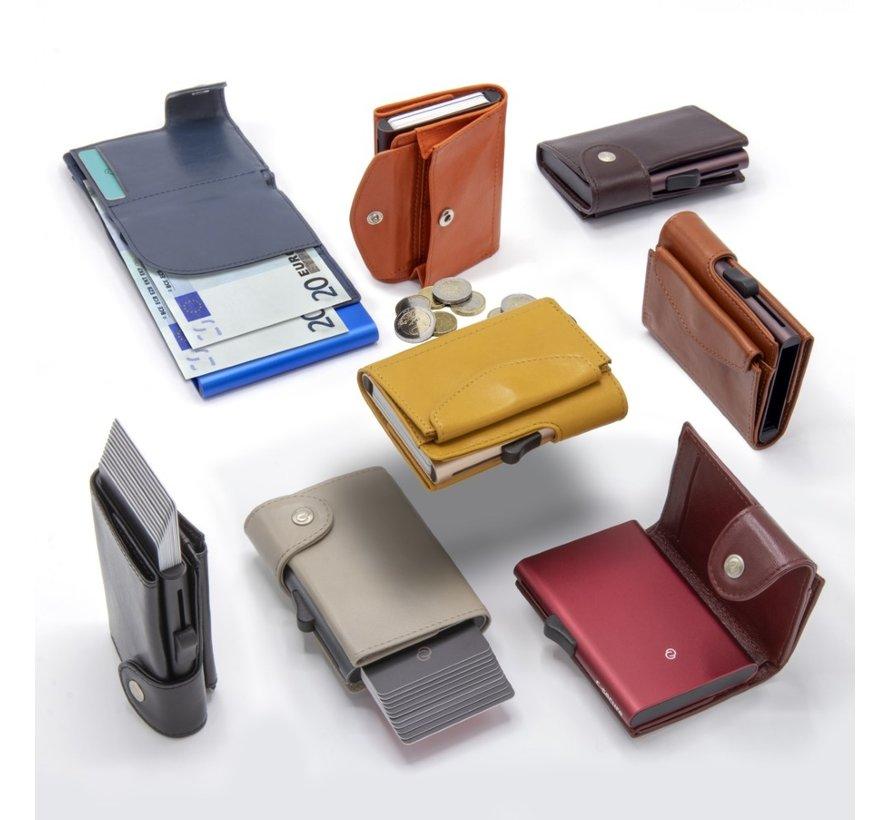 C-secure XL Coin Wallet cobalto