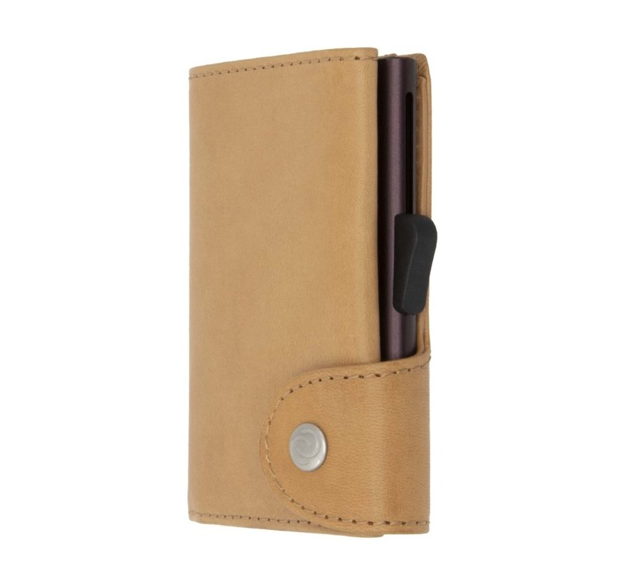 C-secure Wallet Vegetable Tanned saddle