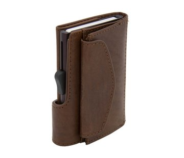 C-secure C-secure Coin Wallet Vegetable Tanned gun