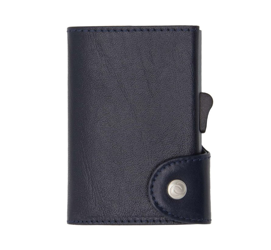 C-secure XL Wallet Vegetable Tanned donkerblauw-montana
