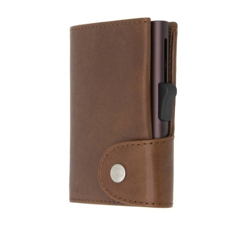 C-secure C-secure XL Wallet Vegetable Tanned gun