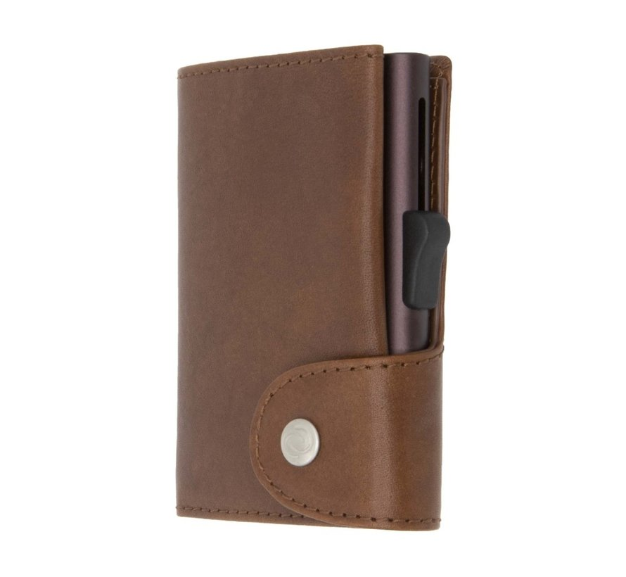 C-secure XL Wallet Vegetable Tanned gun