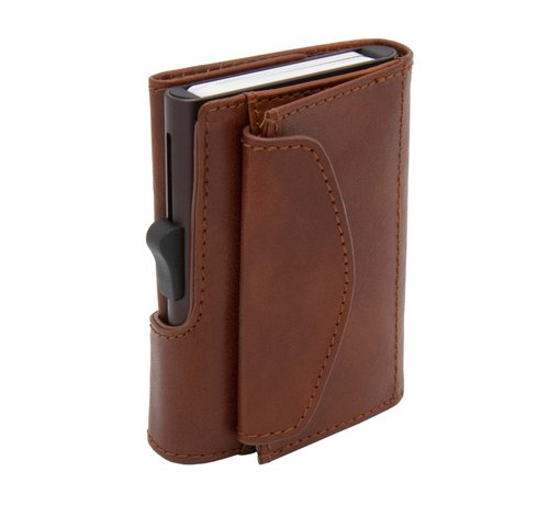 C-secure C-secure XL Coin Wallet Vegetable Tanned macchiato