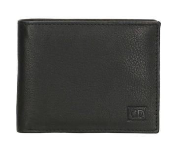 Double-D Double-D portemonnee 102 zwart