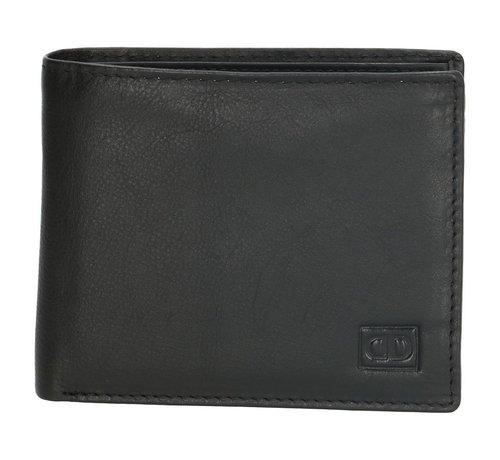 Double-D Double-D portemonnee 103 zwart